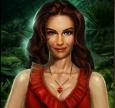 Vrouw rood